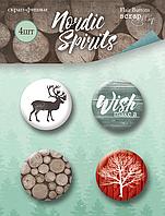 Скрап-фишки Nordic Spirits, 4 шт