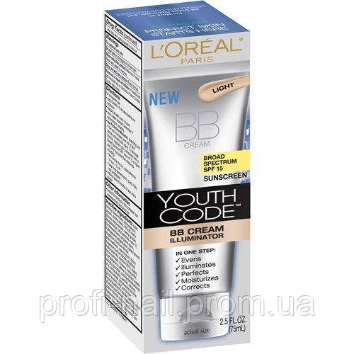 Loreal - Тональный крем для лица Loreal BB Cream Youth Code 75ml