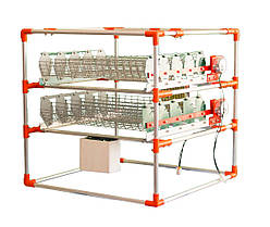 Автоматический инкубатор-конструктор (220V) на 90 яиц, с увлажнителем,  WI-FI, автопереворотом, фото 2