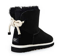 UGG Mini Bailey Bow Selene Black, фото 1