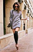 5 модных советов как носить гетры осенью