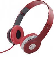 Наушники Esperanza EH145R Red, Mini jack (3.5 мм), накладные, складные, кабель 3 м