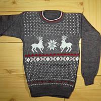 Детский свитер для мальчика Олени рр. 122-134 Beebaby (Бибеби)