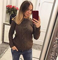Модный, стильный, теплый женский свитер , фото 1
