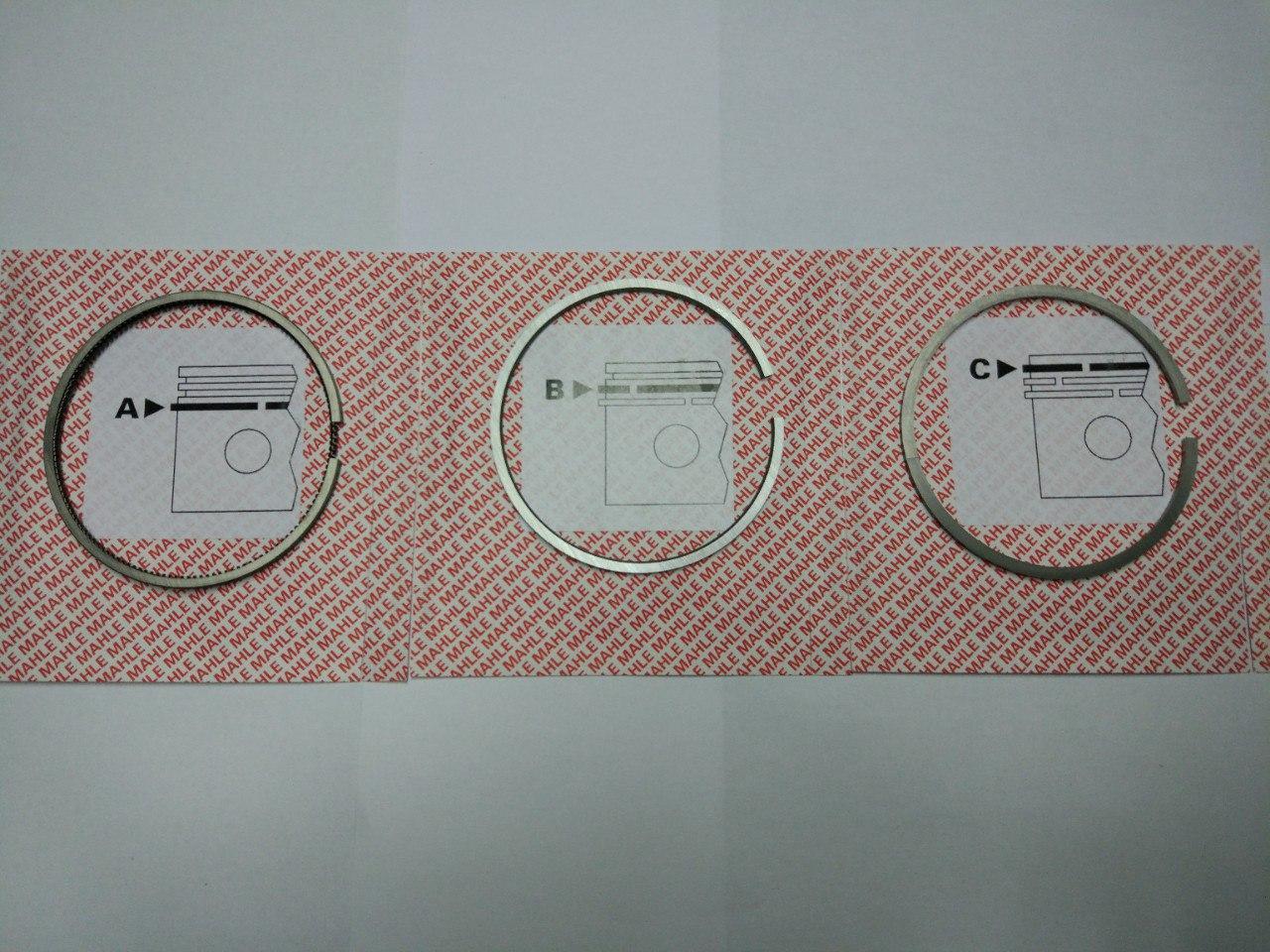 Поршневі кільця Renault Trafic, Opel Vivaro, 1.9 dci, 2001-2006, Mahle 02158V0