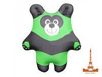 """Антистрессовая игрушка """"Панда"""" зеленая"""