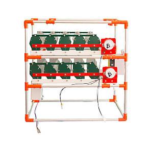 Автоматический инкубатор-конструктор (220V) на 90 яиц, с увлажнителем, фото 2