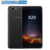 Смартфон Doogee X20 Black MTK6580 1.3Ghz . Бампер в подарок!