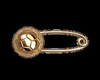 Золотая булавка Мяч