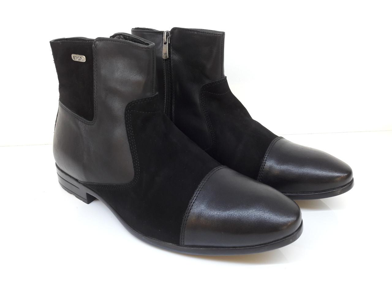 Ботинки Etor 10884-7040 черные