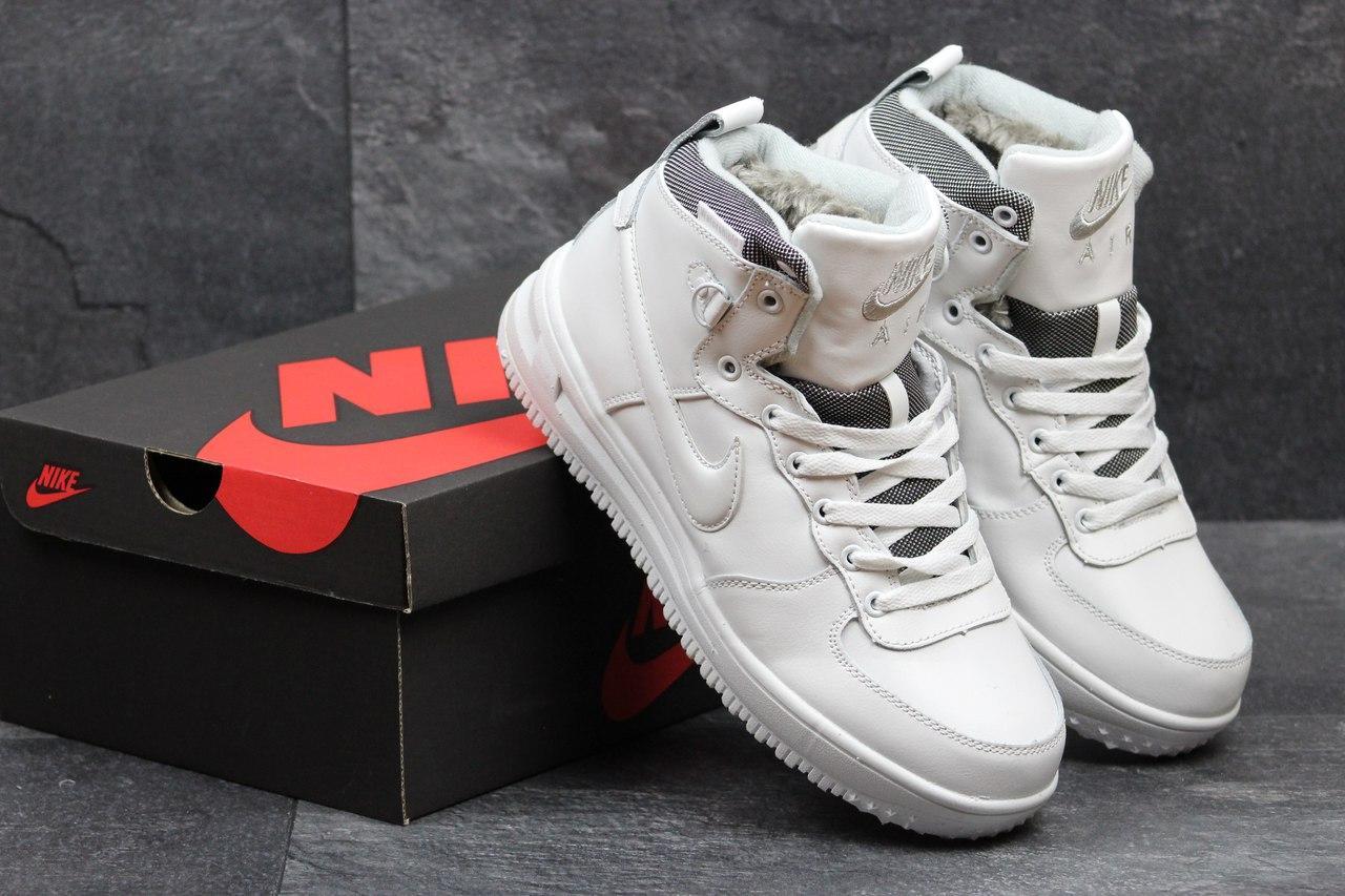 Зимние кроссовки Nike Air Force белые 3587, цена 977,55 грн., купить ... 2c9ca0ad330