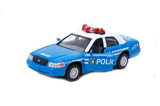 Модель легкова Ford Crown Victoria Police Blue