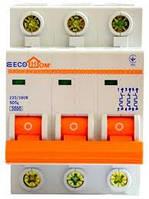Автоматический выключатель 3p C-6A ECOHOME