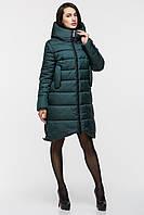 Зимняя женская удлинённая куртка