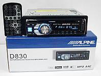 Alpine D830 DVD магнитола + USB+SD+AUX+FM (4x50W)