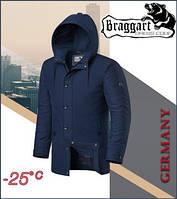 Braggart Dress Code 4282   Мужская зимняя куртка т-синяя