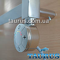 ЭлектроТЭН Smart chrome с регулятором 40-65C + таймер 3 режима + LED подсветка, для полотенцесушителя; Италия