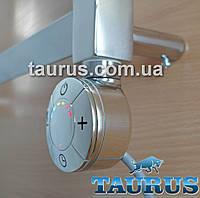 ЭлектроТЭН Smart с регулятором + таймер 3 режима, для полотенцесушителя, хром (Италия). Цветная LED подсветка