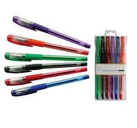 Набор цветных шариковых ручек 6 шт., фото 1