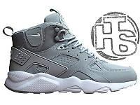 Мужские кроссовки Nike Air Huarache Winter Gray