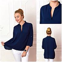 Блузка женская, модель 749, синий