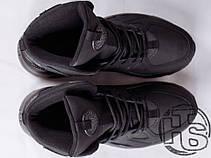 Чоловічі кросівки Nike Air Huarache Winter Black, фото 3