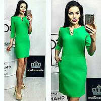 Платье женское, модель 756, яблоко