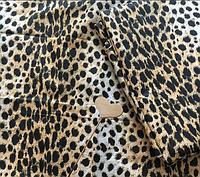 Комплект  леопардового постельного белья 100% хлопок.