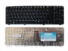 Оригінальна клавіатура для ноутбука HP Compaq CQ61, G61, rus, black