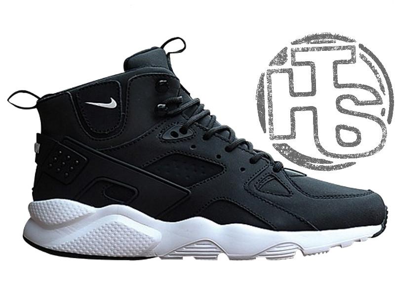 3a067ec1 Мужские Кроссовки Nike Air Huarache Winter Black/White — в Категории ...
