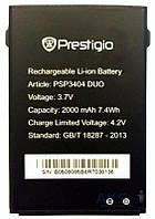 Аккумулятор Prestigio MultiPhone 3404 / PSP3404 (2000 mAh) Original