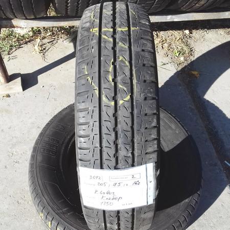 Бусовские шины б.у. / резина бу 205.75.r16с Kleber Transpro Клебер