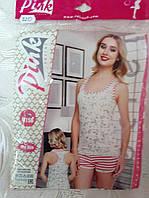Комплект Pink для сна и дома.Олени Размер 46