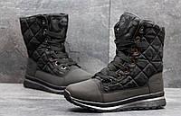 Женские зимние ботинки Timberland черные 3595