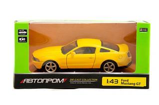 Машина металева Автопром Ford GT Mustung
