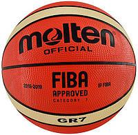 Мяч баскетбольний Molten BGR7-E7T