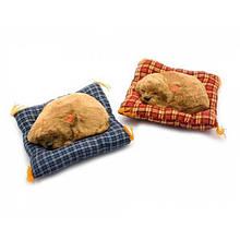 Сувенирная фигурка Щенок спящий на коврике