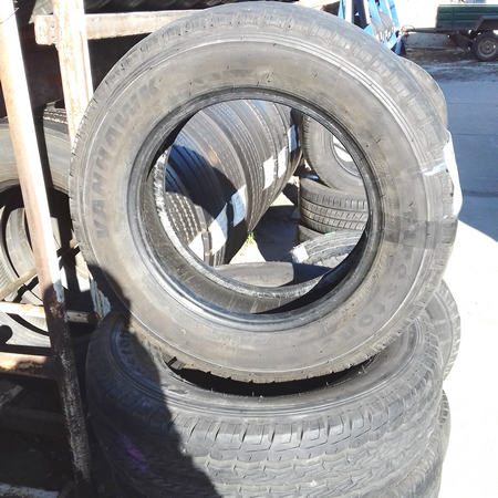 Бусовские шины б.у. / резина бу 195.70.r15с Firestone Van Hawk Файрстоун