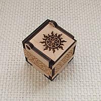 Подарочная коробочка Алатырь в солнышке