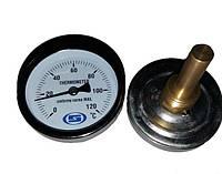 """Термометр погружной с гильзой Gross 1/2"""" 60/50 (0-120 С)"""
