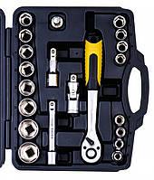 Набор ключей и торцевых насадок MasterTool (78-4021)