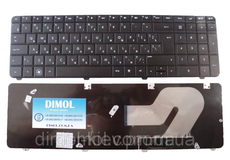 Оригінальна клавіатура для ноутбука HP Presario CQ72, G72, rus, black