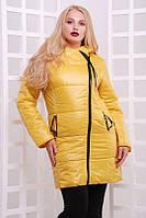Удлиненная куртка на синтепоне 200 Батал 48-52рр.