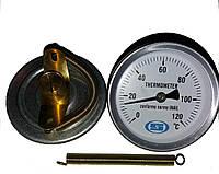 Термометр Gross накладной с пружиной 63 мм(0-120 С)