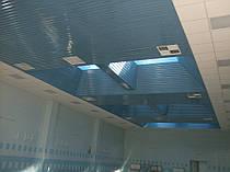 Бассейн ( алюминиевый реечный потолок ) -1