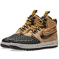 """Оригинальные кроссовки Nike Lunar Force 1 Duckboot '17 """"Metallic Gold"""""""