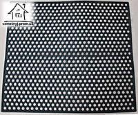 Коврик резиновый ячеистый Сота 90*80 см (высота ковра - 1 см)