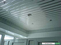 Коридоры и санузлы  ( алюминиевые реечные потолки ) -1