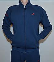 Мужской зимний спортивный костюм Adidas 1695(штаны-манжет)