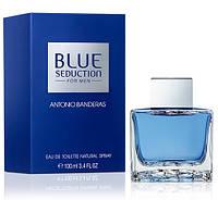 Antonio Banderas Blue Seduction For Men edt 100 ml. мужской оригинал